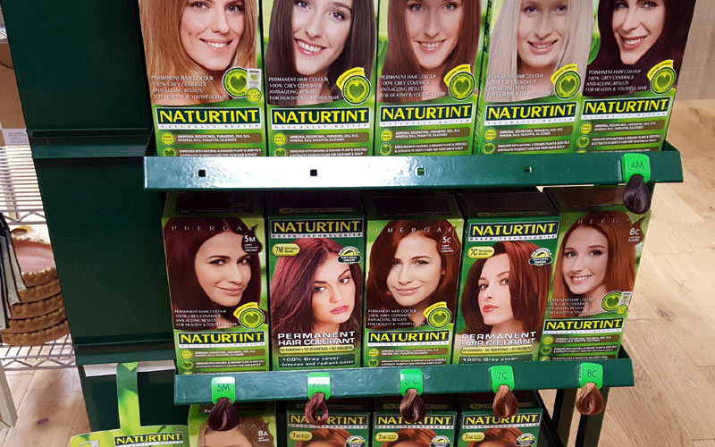 Naturtint Natural Hair Dye at J Dodds Health Foods and Supplements Huddersfield