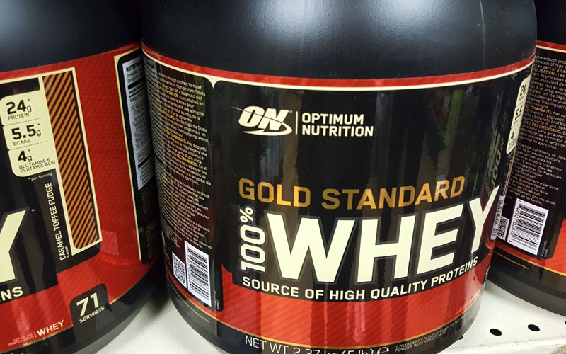 Optimum Nutrition Protein at J Dodds Health Foods and Supplements Huddersfield