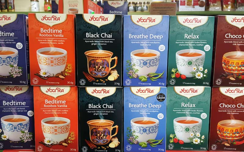 Yogi Tea at J Dodds Health Foods and Supplements Huddersfield