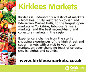 Visit www.kirkleesmarkets.co.uk