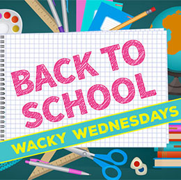 Back to School Giveaways at The Packahorse Centre Huddersfield