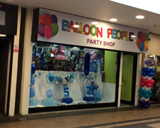 The Balloon People, Piazza Shopping Centre Huddersfield
