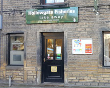 Hollowgate Fisheries Takeawy, Holmfirth