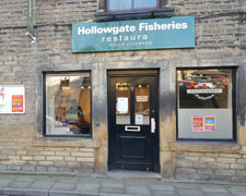 Hollowgate Fisheries Restaurant, Holmfirth