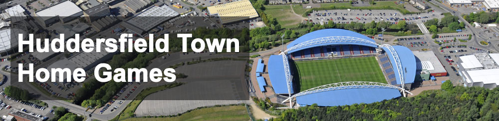 Huddersfield Town Football Club Premier League Home Game Fixtures at John Smith's Stadium