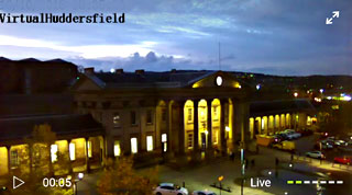 Virtual Huddersfield Live Streaming Webcam in St. George's Square