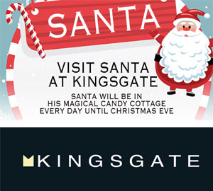 Santa at the Kingsgate Shopping Centre Huddersfield