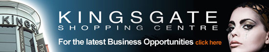 Kingsgate Shopping Centre - click here to see the latest business opportunities