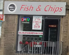My Cod Fish & Chips, Chapell Hill, Huddersfield