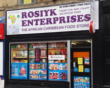 Rosiyk Afro Caribbean Food Store, Huddersfield