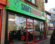 Sam's Barbers Shop, Huddersfield