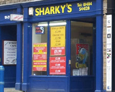 Sharky's Fish & Chips, Huddersfield