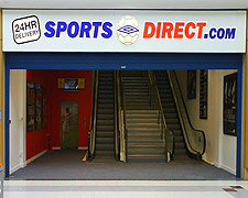 sports direct huddersfield