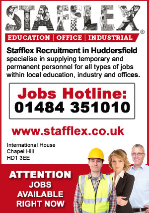 Jobs in Huddersfield at Syafflex Recruitment Agency
