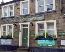 The Woolpack Pub, Almondbury