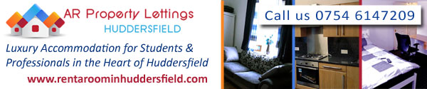 AR Property Lettings, Rent a Room in Huddersfield